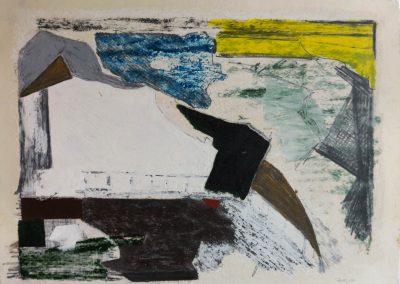 3 Danish nature landscape.Water color,oil pastel,pencil.Created 2000-2008.